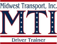 midwest transport, inc, greenup, il, logo design, driver training, tara darcy designs, westfield