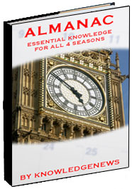 almanac ebook knowledgenews, ebook, cover design, book, tara darcy, knowledgenews