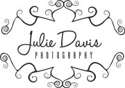 julie davis logo black