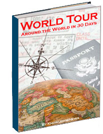 world tour knowledgenews ebook, knowledgenews, ebook, cover, book, design, cover design